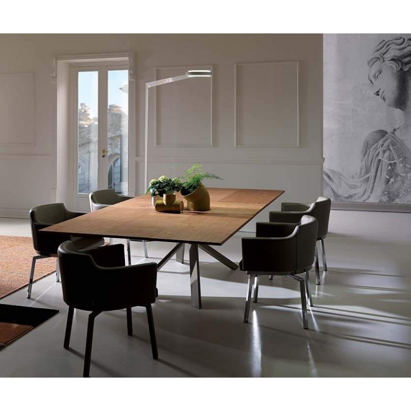 Tavolo Ozzio Design.Extendable Table Ozzio Italia T240 4x4 Barthome
