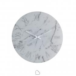 Mirror/clock Riflessi Mito