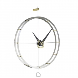 Wall-Mounted clock nomon Doble 0