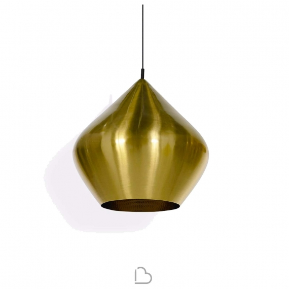 Lampe suspension Tom Dixon Beat stout brushed - BartHome