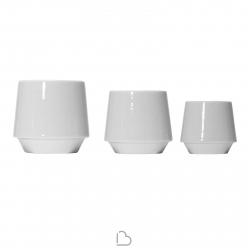 Set Porcelain cups Covo Habit