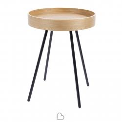 Tavolino Zuiver Oak tray