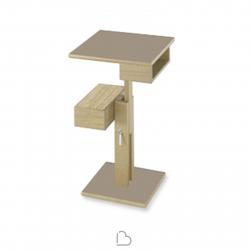 Tavolino Sculptures Jeux Nuit