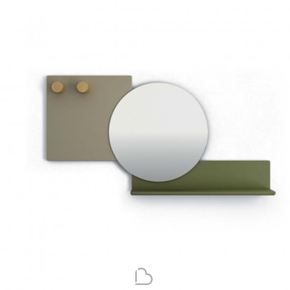Specchio con mensola Bonaldo Piers - BartHome