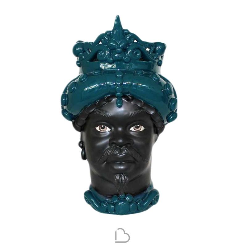 Testa Di Moro Ceramica Verus.Ceramique Sicilienne De Caltagirone Testa Di Moro Man Ottanio