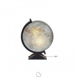 Lampada da terra in cartone Kubedesign Mondo