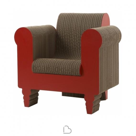 Sessel aus pappe stuhl regale und einfach ausklappen die schnelle lsung fr eine temporre - Stuhl aus pappe ...