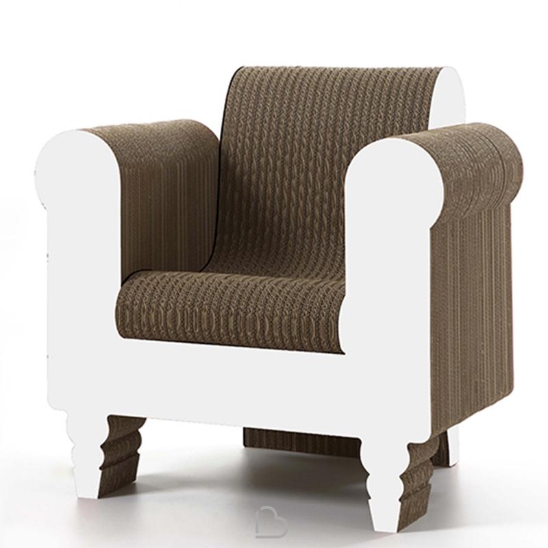 sessel aus pappe stuhl regale und einfach ausklappen die schnelle lsung fr eine temporre. Black Bedroom Furniture Sets. Home Design Ideas