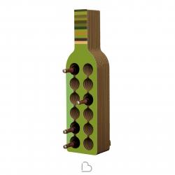 Portabottiglie in cartone Kubedesign Bodega