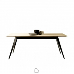 Treku Aise table with fixed metal legs
