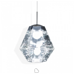 Pendant lamp Tom Dixon Cut Tall Chrome