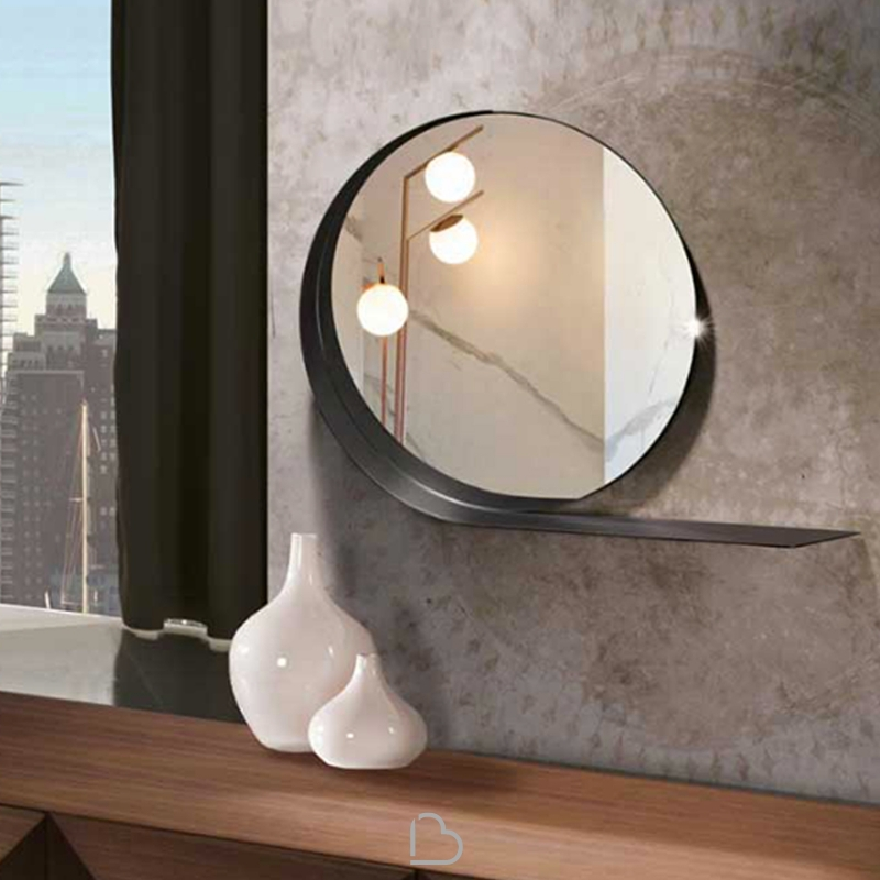 Spiegel mit regal riflessi madame barthome - Regal mit spiegel ...