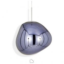 Tom Dixon Suspension Lamp Melt Mini Smoke