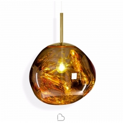 Tom Dixon Suspension lamp Melt Mini Gold