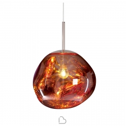 Tom Dixon Suspension Lamp Melt Mini Copper