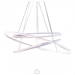 Nemo Ellisse Triple Suspension Lamp