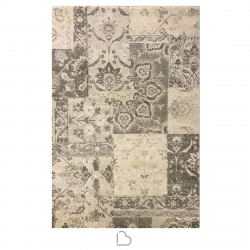 Carpet Armon Opus Damask Gray and Beige