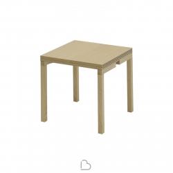 Table extensible Sculptures Jeux Piaf