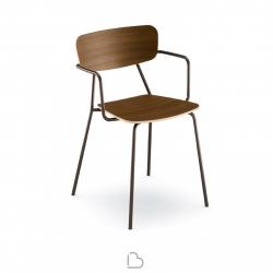 Chaise avec accoudoirs Sculptures Jeux Ibetta