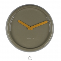 Wall clock Zuiver Ceramic Green