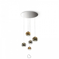 Suspension Lamp Reflex Bulles XL