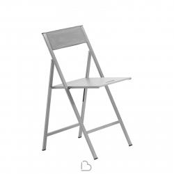 Sedia in alluminio Ondarreta Clip