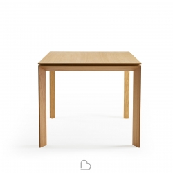 Fixed wooden table Ondarreta Iru