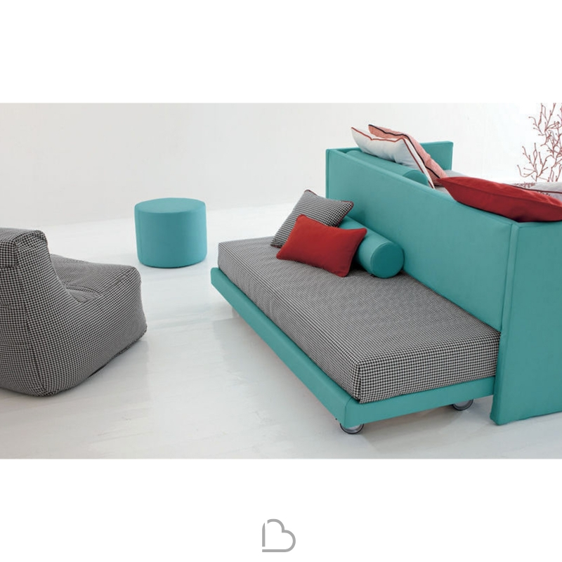 Chaise Longue Letto Singolo.Letto Singolo 2much Twils Barthome