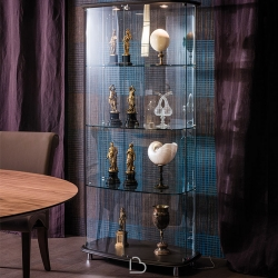 Glass display cabinet Cattelan Concerto
