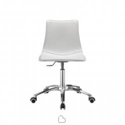 Chaise à roulettes SCAB Design ZEBRA POP 2644