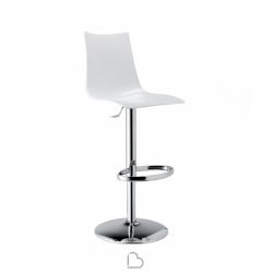 Swivel stool SCAB Design ZEBRA UP ANTISHOCK