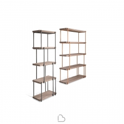 Bookcase Bonaldo Rain