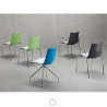 Chair with armrests SCAB Design ZEBRA BICOLORE
