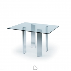 Square table MisuraEmme Taul