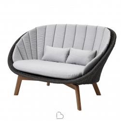 2-seater sofa Cane-line Peacock