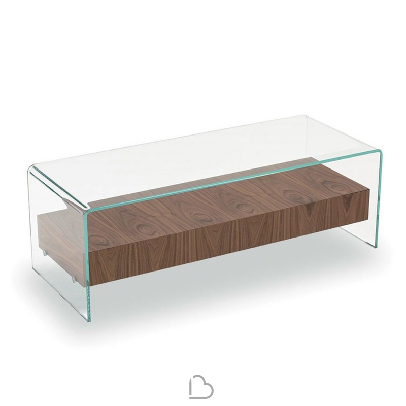 design de qualité 842e3 3d3e1 Table basse Sovet Italia Bridge avec tiroir