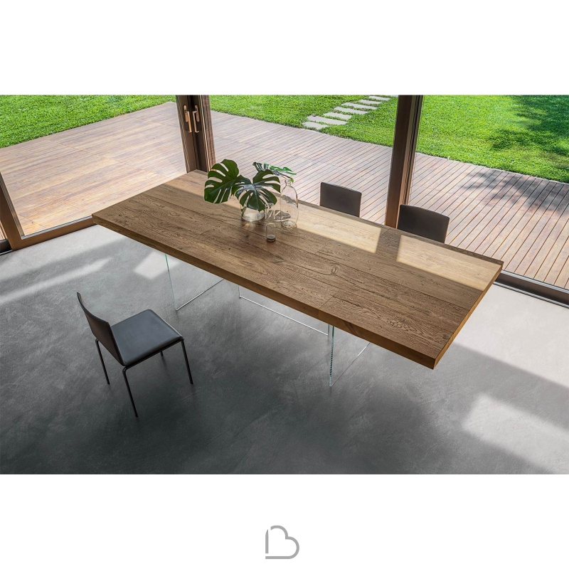 Lago table air wildwood h 76 barthome for Lago furniture