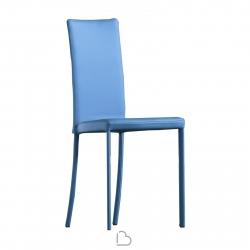 Chaise Riflessi Slim avec les jambes couvertes