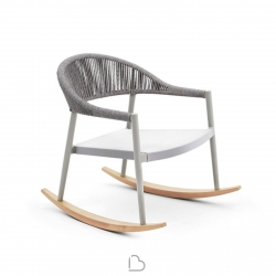 Rocking armchair Varaschin Clever