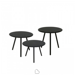 Set 3 Coffee Tables Vermobil Desiree