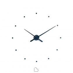 Wall-Mounted clock nomon OJ Silver