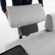 Sofà Light Home Compo 3 seats with tray
