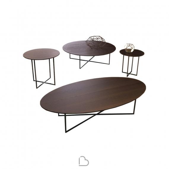 Coffee Table Désirée Sabi Top Wood