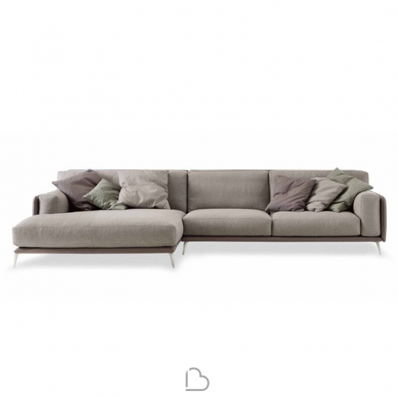 Sofa mit Chaise Longue DiTre Italia Kris Low - BartHome