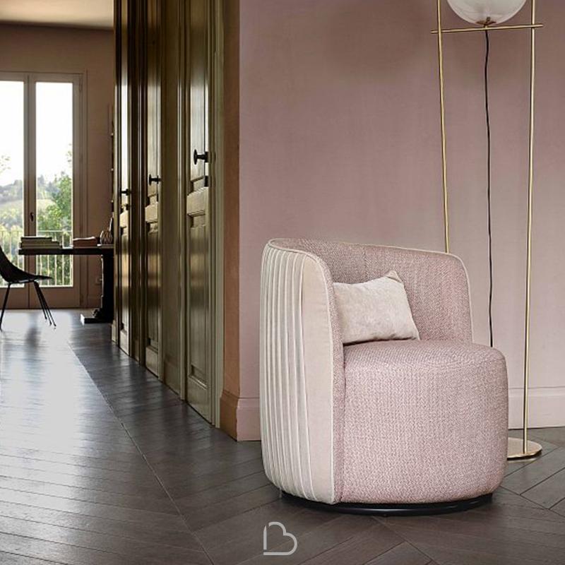 Poltrona DiTre Italia Chloè Luxury BartHome
