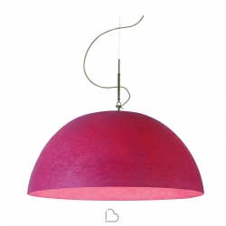 Suspension lamp Ines.artdesign Mezza luna 1 Nebulite