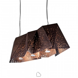 Suspension Lamp Horm Plywood Chandelier