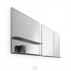 Mirror with Shelf Horm Gill