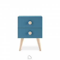 Bedside Table Nidi Woody