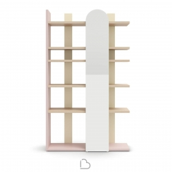 Bookcase Nidi Surfy